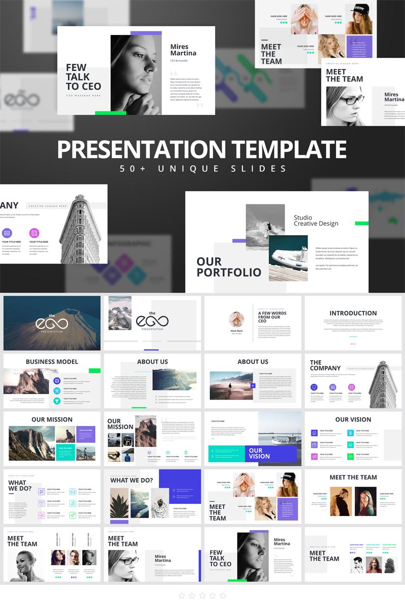 EGO-Multipurpose Business PowerPoint Template - screenshot