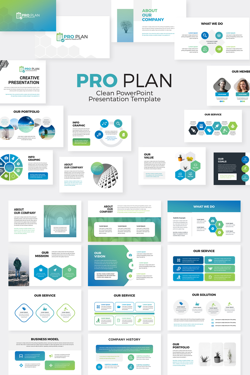 ProPlan - PowerPoint Template - screenshot
