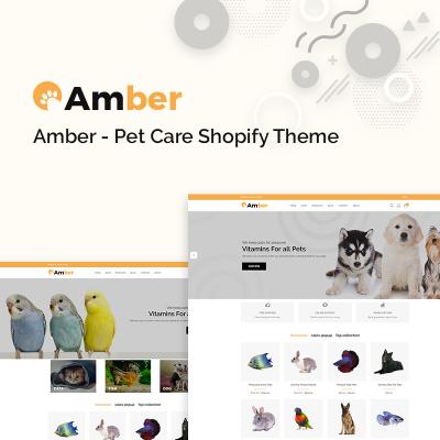 Responsive Tema Shopify #77390 para Sitio de  para Sitio de Perros