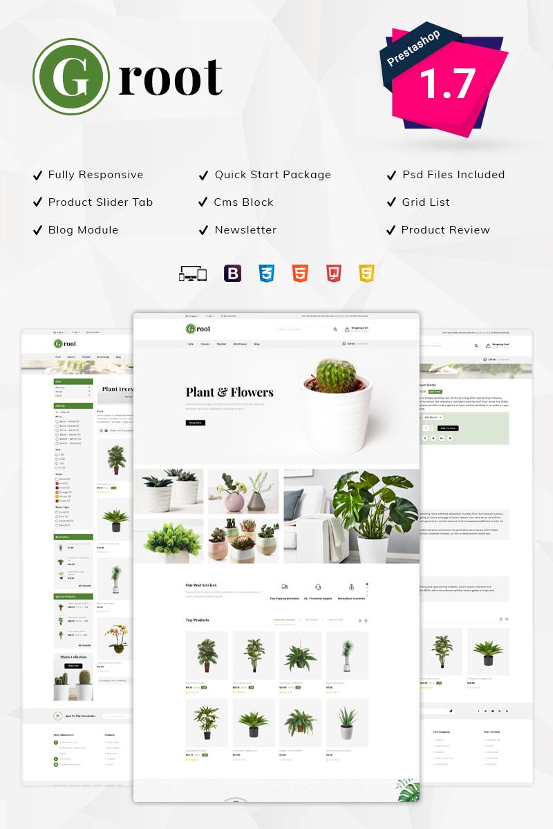 Tema para prestashop - Categoría: Agricultura - versión para Desktop