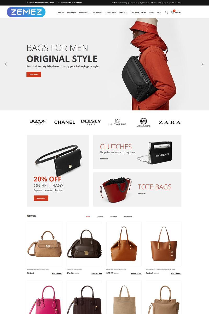 hBags - Handbag Multipage Clean №77486