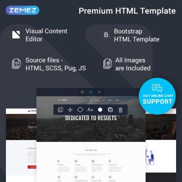 Купить  пофессиональные Bootstrap и html шаблоны. Купить шаблон #77547 и создать сайт.