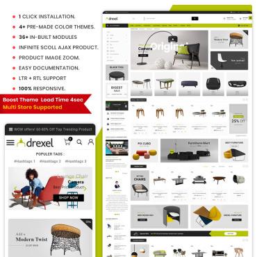 Купить  пофессиональные PrestaShop шаблоны. Купить шаблон #77573 и создать сайт.