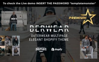 BERWEAR - Fashion Multipage Elegant Shopify Theme