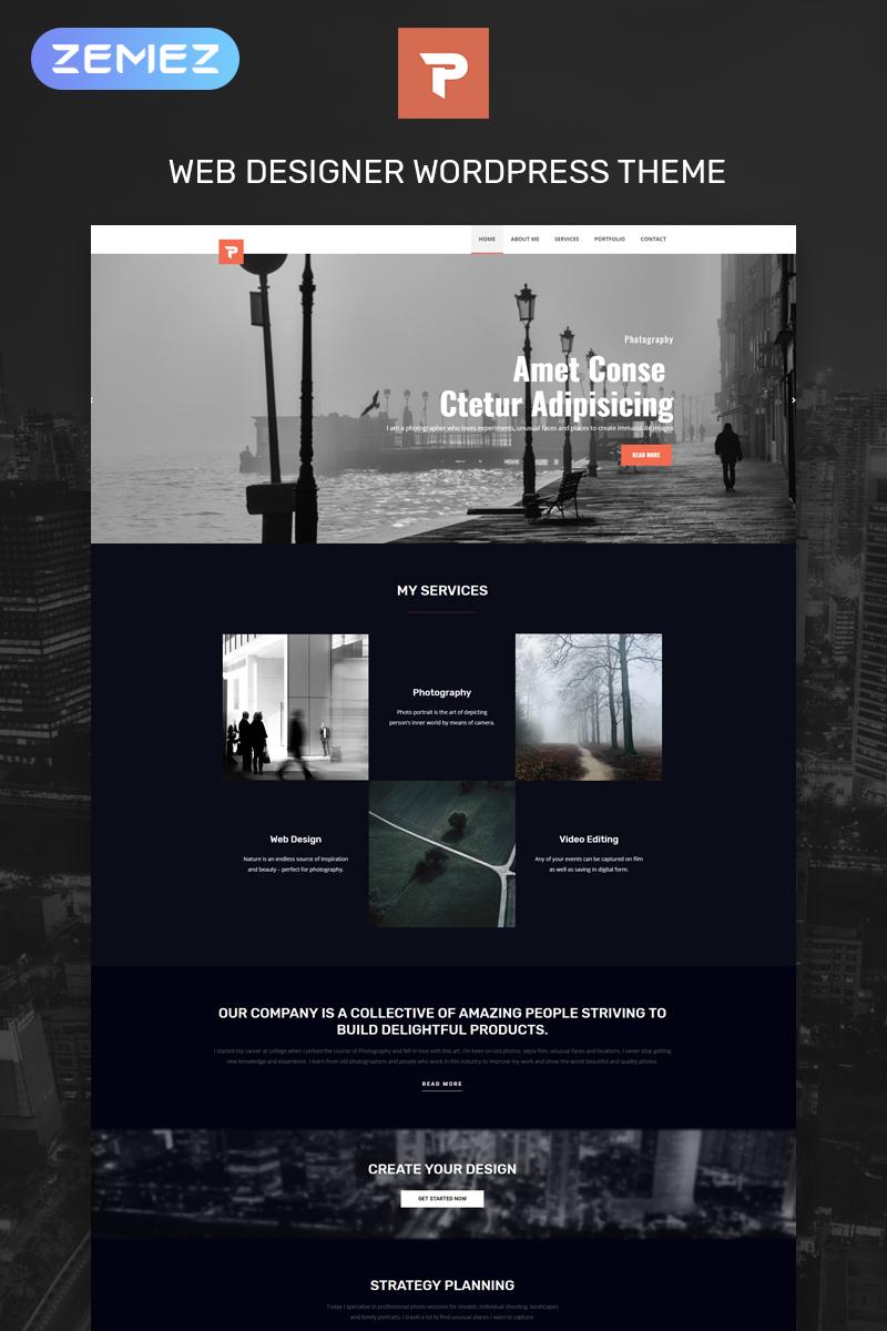 Personalus - Web Designer Multipurpose Creative Elementor WordPress Theme