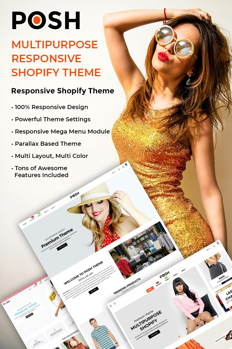 Posh - Simple, Clean & Minimalist Responsive Shopify Theme