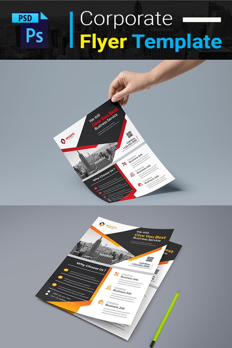 """Šablona firemního stylu """"You Best Business Service Flyer"""" #77555 - screenshot"""