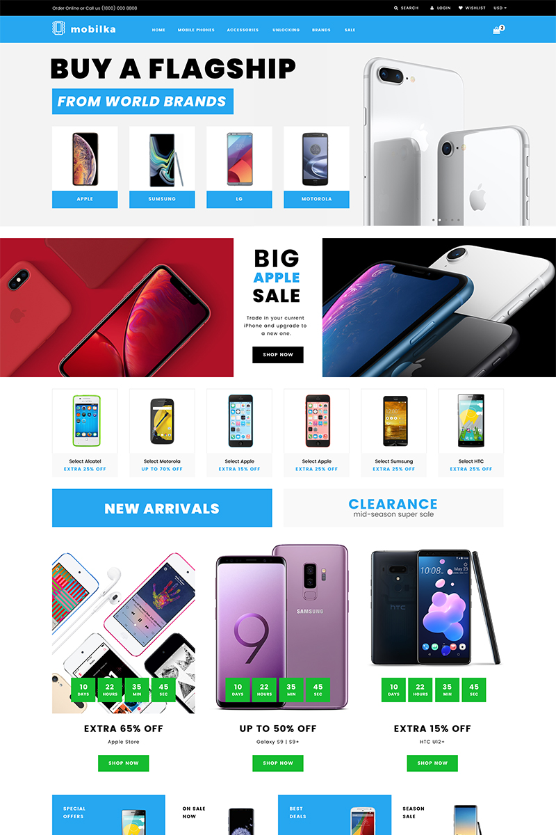 Sellphone - Mobile Store Clean Shopify Theme