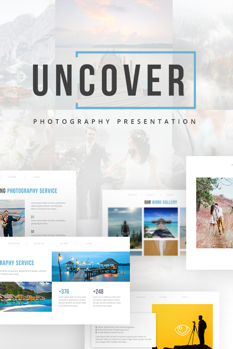 Uncover - Photography PowerPoint Template - screenshot
