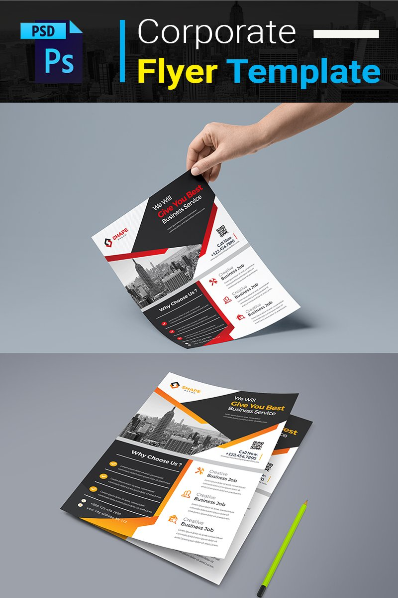 You Best Business Service Flyer Corporate Identity Template