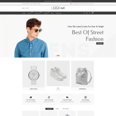 Купить  пофессиональные Shopify шаблоны. Купить шаблон #77614 и создать сайт.