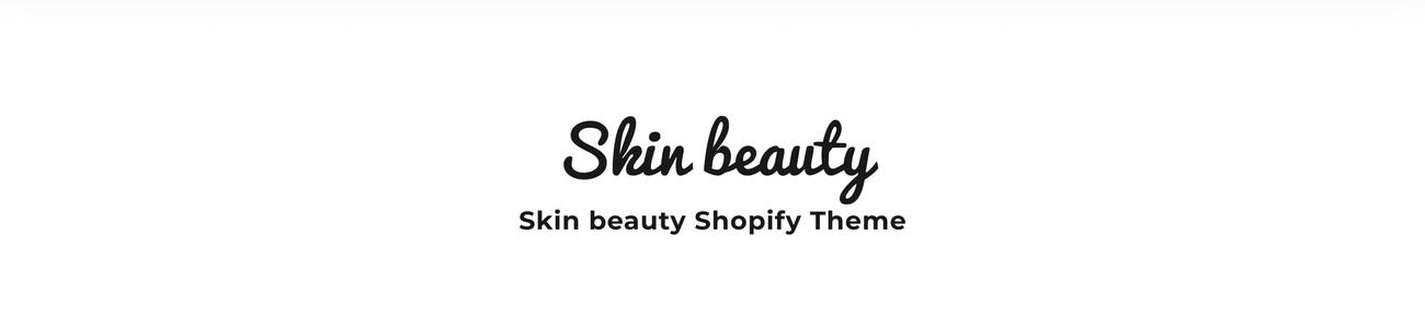 shopify theme, cosmetics