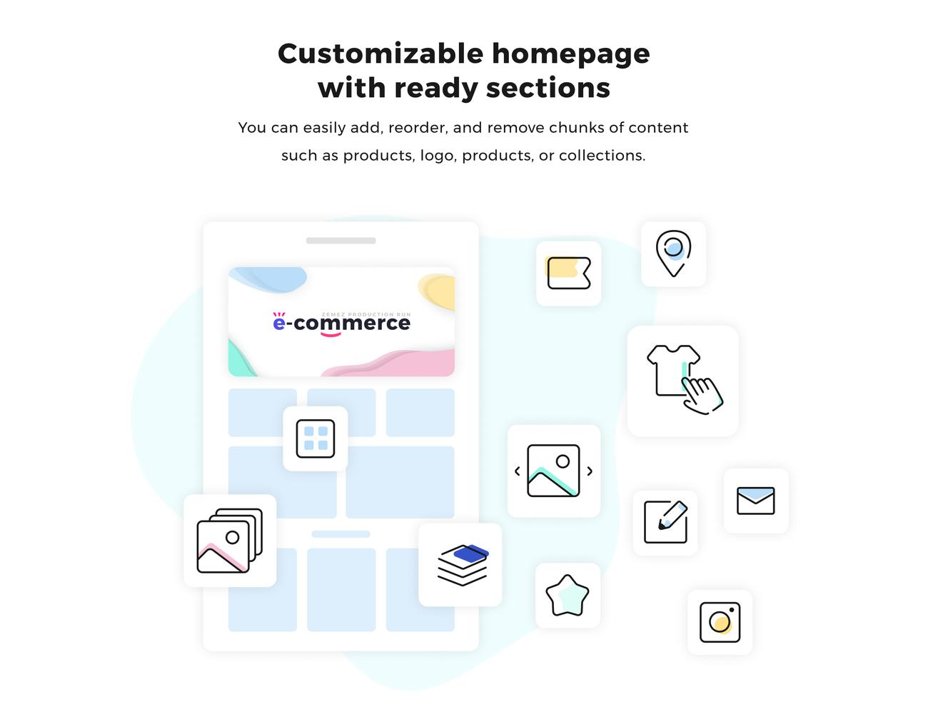 shopify features, shopify builder