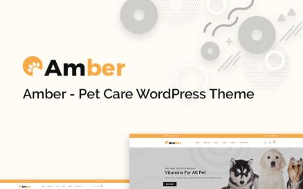 Amber Pet Care WooCommerce Theme
