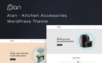 Alan – Kitchen Accessories WooCommerce Theme