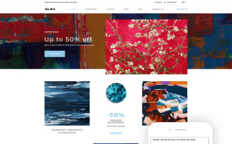 Go Art - Art Clean Creative Shopify Theme