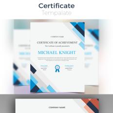 Certificate Templates Award Certificates Templatemonster