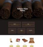 Табачные шаблоны. Шаблон сайта 77717
