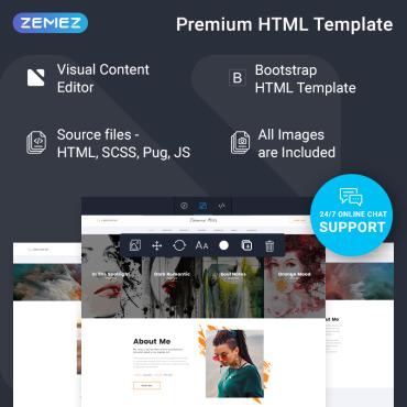 Купить  пофессиональные Bootstrap и html шаблоны. Купить шаблон #77733 и создать сайт.