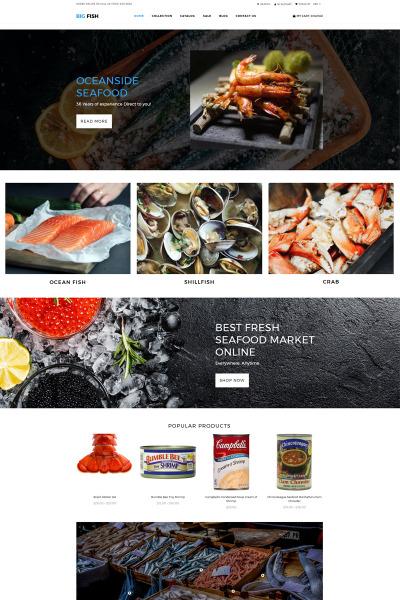 Flexível temas Shopify  №77718 para Sites de Cafeteria e Restaurante