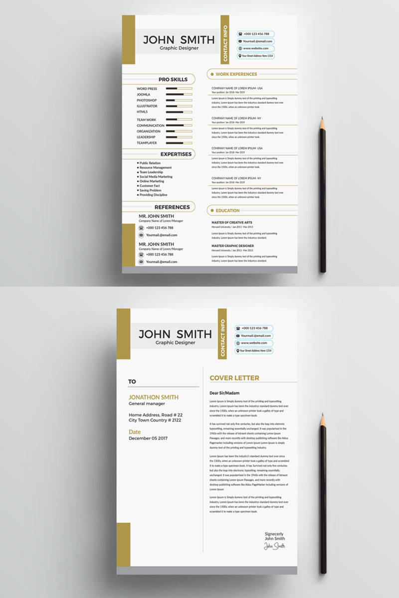 john smith resume template  77713