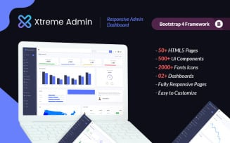 Xtreme Dashboard Admin Template