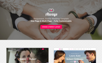 ALWAYS - Responsive Wedding