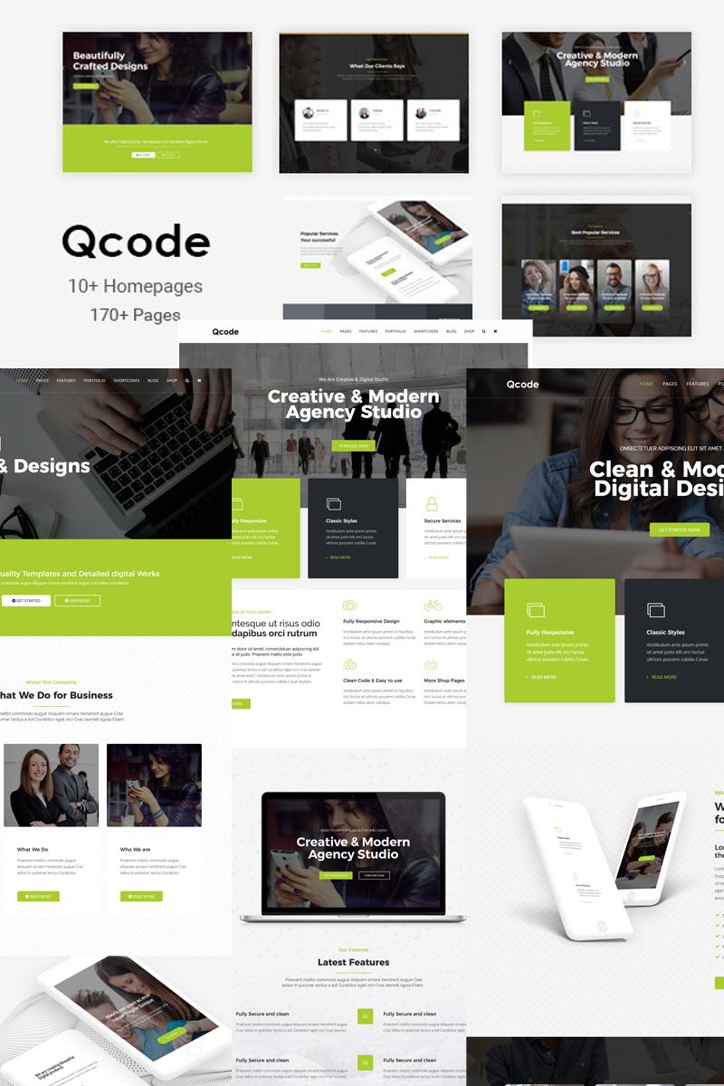 Qcode - Responsive MultiPurpose Joomla Template