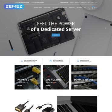 Купить  пофессиональные OpenCart шаблоны. Купить шаблон #77895 и создать сайт.