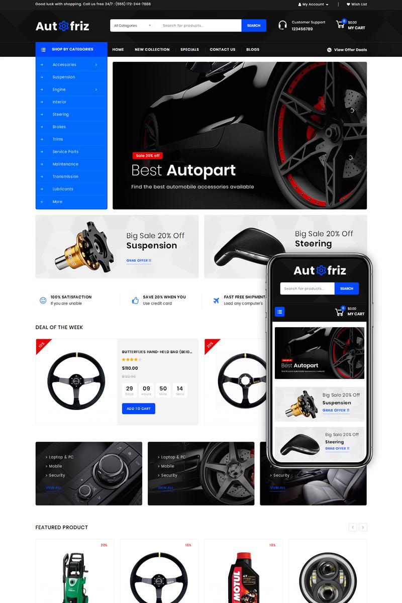Autofriz - Auto Parts Store №77856