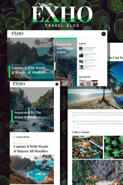 Exho - A Responsive Blog