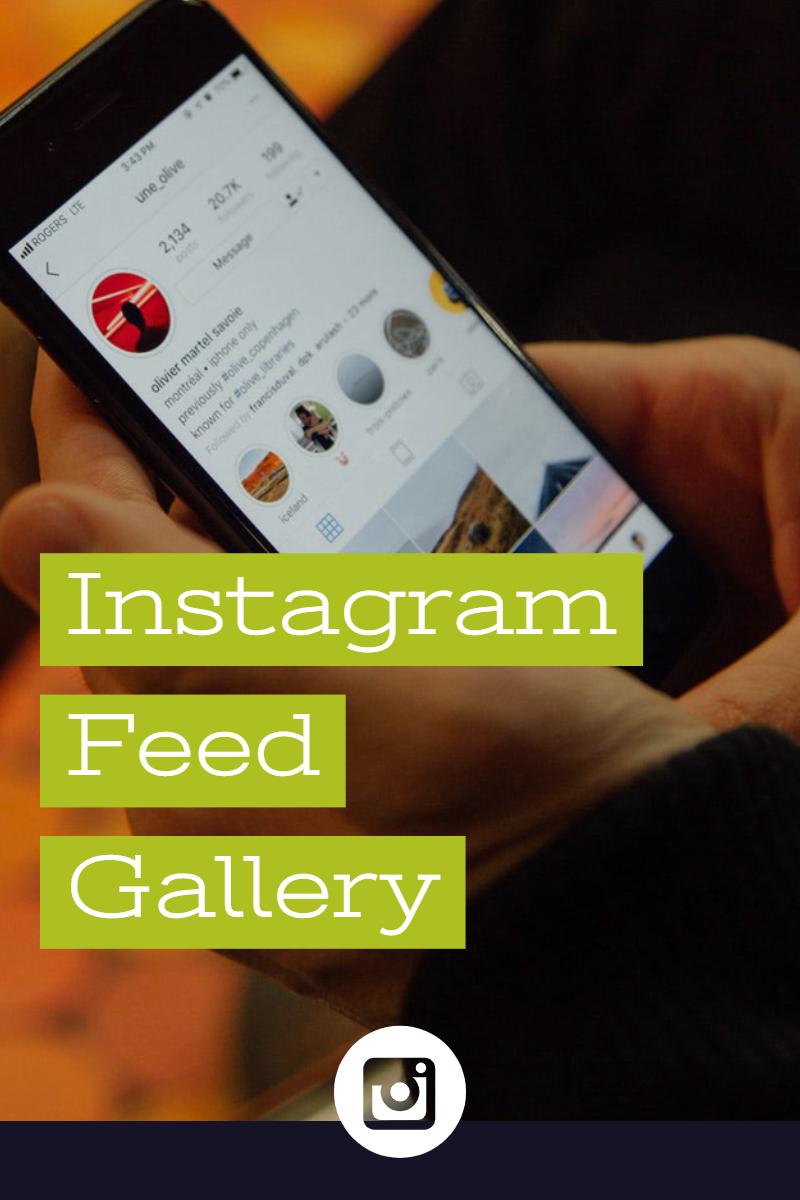 """""""Instagram Feed"""" - адаптивний WordPress плагін №77802"""