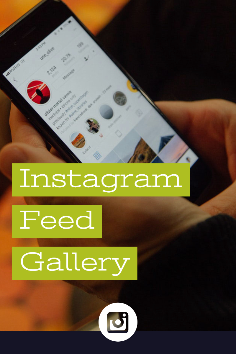 """Instagram Feed"" 响应式WordPress 插件 #77802"