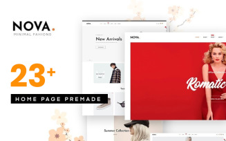 Nova - Fashion PrestaShop Theme