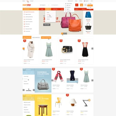 Купить  пофессиональные WooCommerce шаблоны. Купить шаблон #77910 и создать сайт.