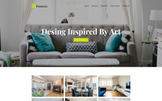 Panorax - Interior Design Multipurpose Modern WordPress Elementor Theme