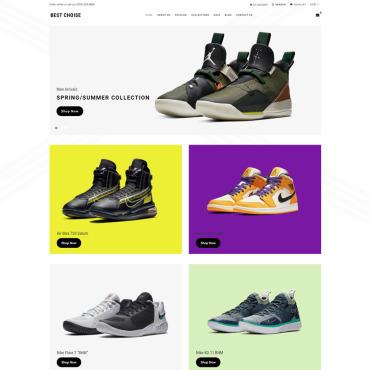 Купить  пофессиональные Shopify шаблоны. Купить шаблон #77963 и создать сайт.