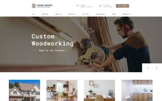 Good Wood - Interior & Furniture Clean HTML Landing Page Template