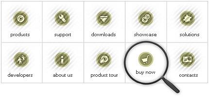 Icon Set Template 7854 Screenshots