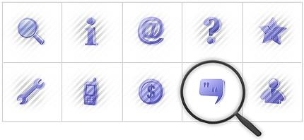 Icon Set Template 7860 Screenshots