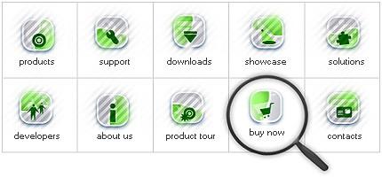 Icon Set Template 7861 Screenshots