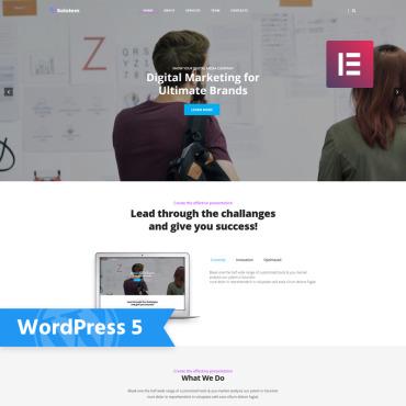 Купить  пофессиональные WordPress темы. Купить шаблон #78052 и создать сайт.