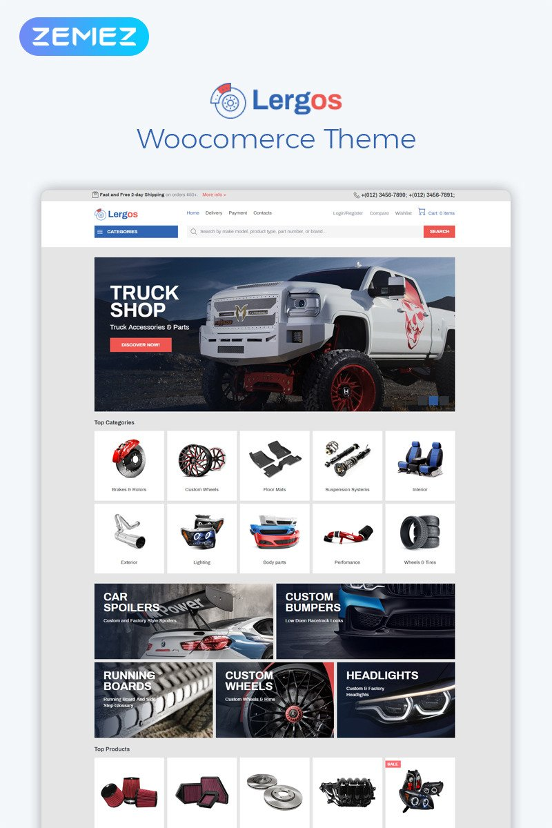 Golmart - Creative WooCommerce WordPress Theme