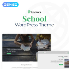 Knowes Education Multipurpose Modern Elementor Medical College WordPress Theme