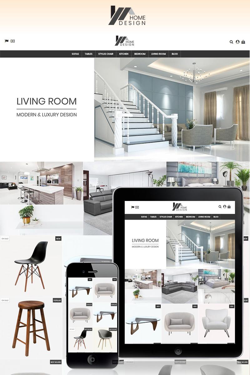 Responsywny szablon PrestaShop Home Design #78036 - zrzut ekranu