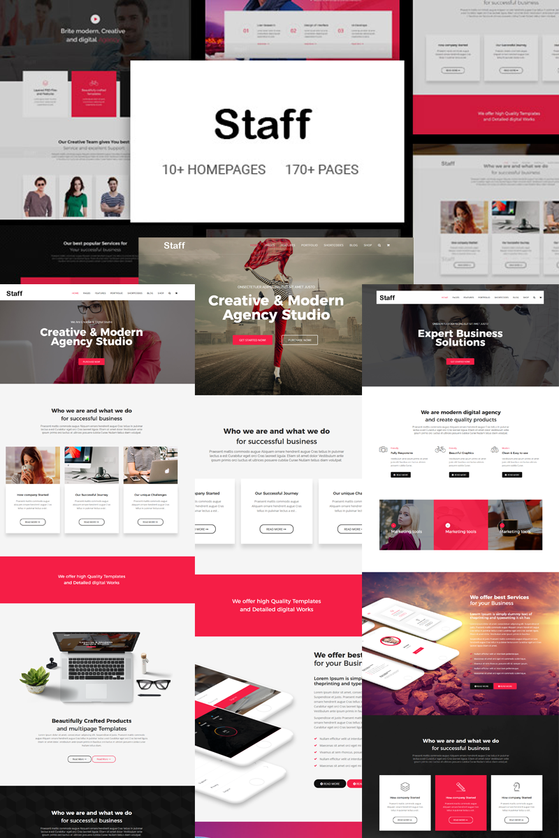 Staff - Responsive Business Joomla Template