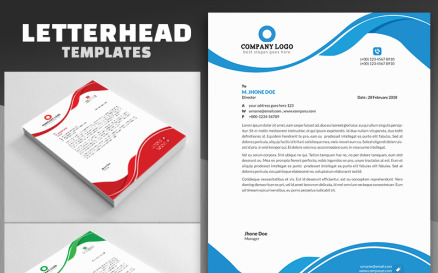 Business Style Letterhead Corporate Identity