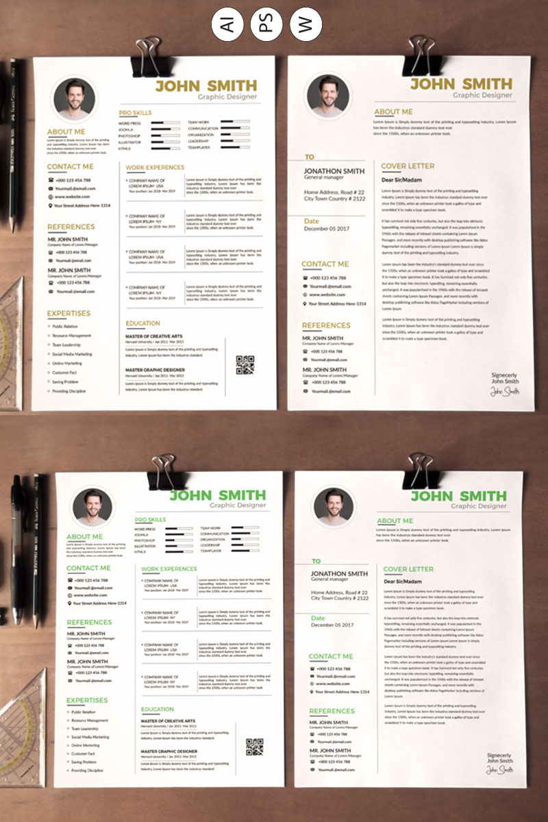 john smith resume template  78174