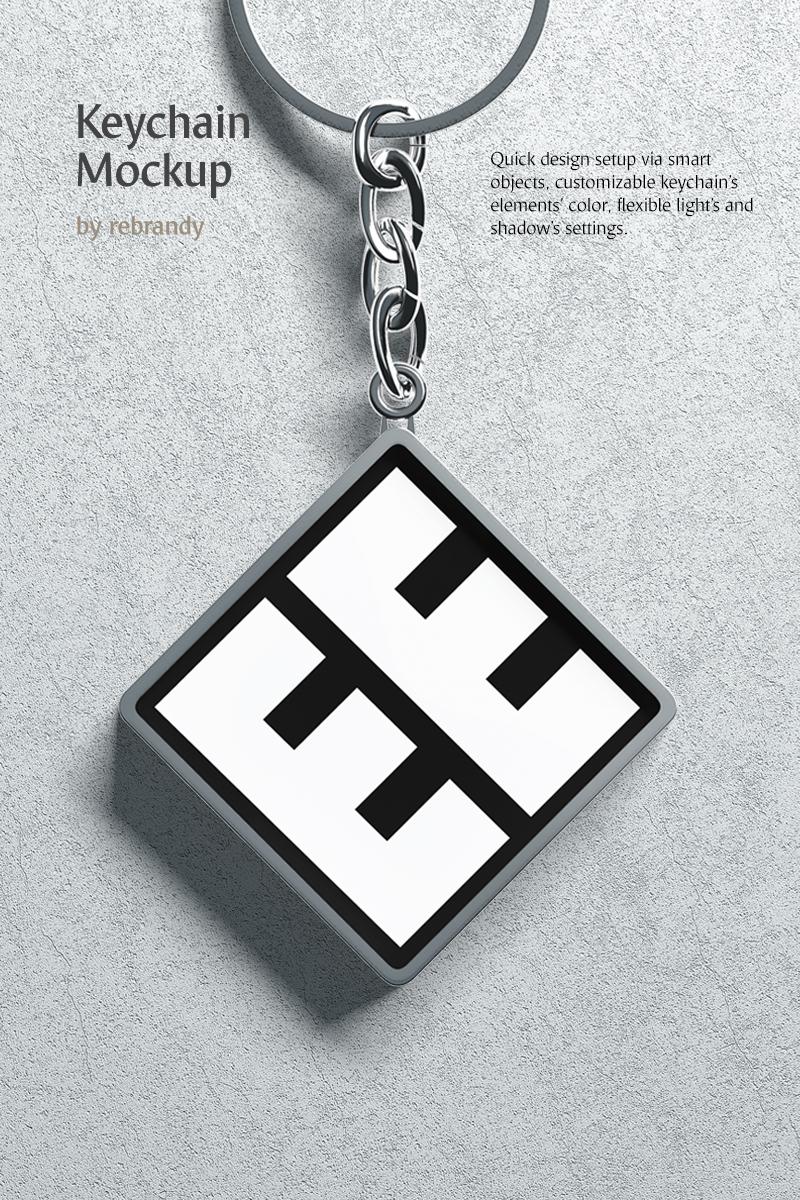 """Keychain"" - Мокап продукту №78196"