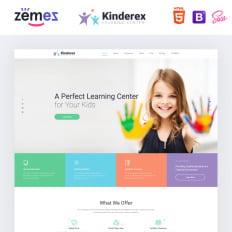6db2d97d77 Kinderex - Kids Learning Center Clean HTML5